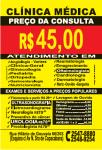 CLÍNICA MÉDICA POPULAR COPACABANA – R$45,00