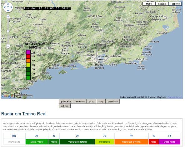 Clima Tempo - Radar Meteorológico 2